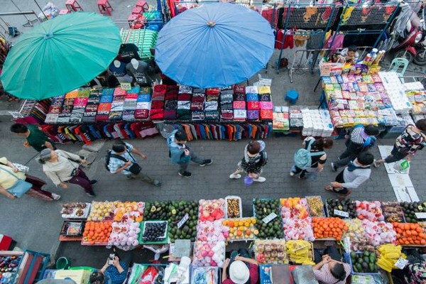 Mae Sai Market in Chiang Rai