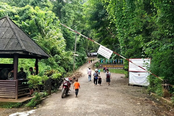 Tham Luang Nang Non Forest Park