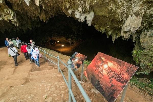 Tham Luang Nang Non Cave in Chiang Rai
