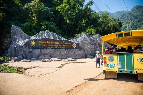 Tourist Facility at Tham Luang Nang Non Forest Park