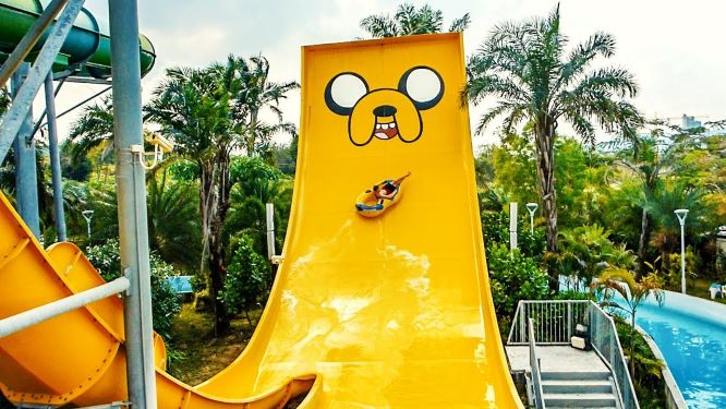 Adventure Zone at Cartoon Network Amazone Waterpark