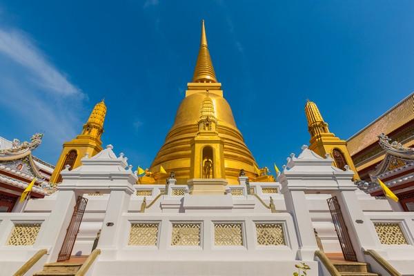 The Pagoda of Wat Bowonniwet Vihara