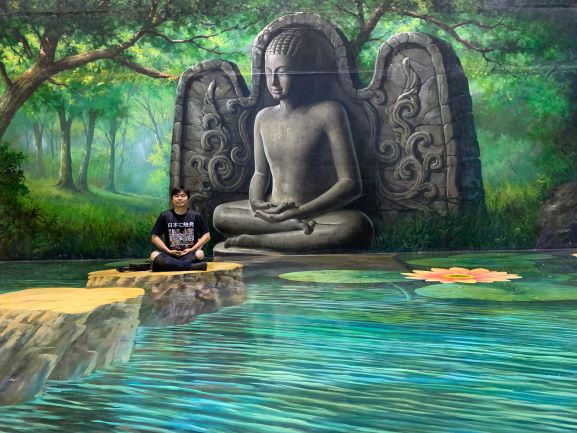 Art in paradise in Pattaya Touist attractions