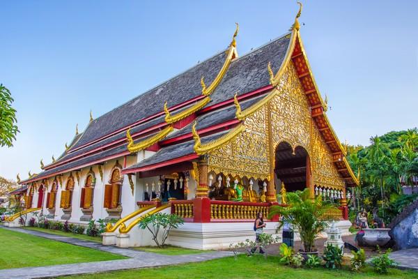 The Main Vihara of Wat Chiang Man