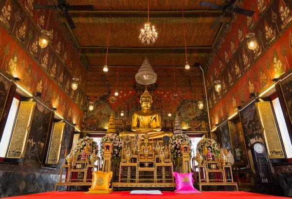 The Main Buddha Image inside the Ubosot