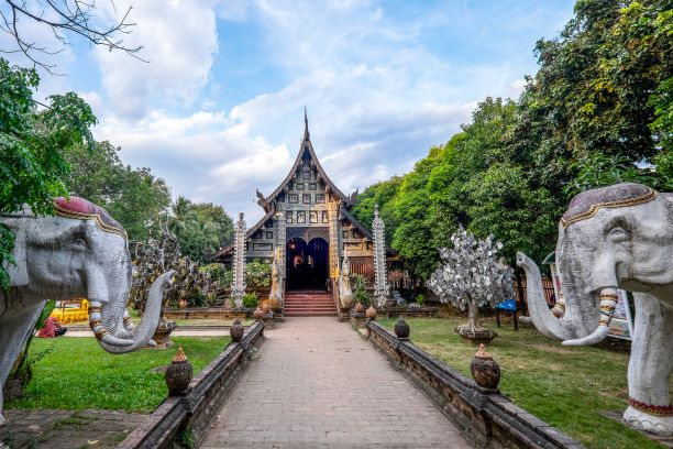 Wat Lok Molee Temple in Chiang Mai