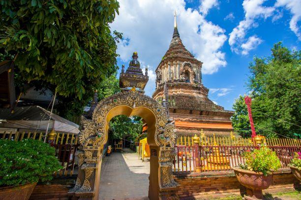 Chedi of Wat Lok Molee