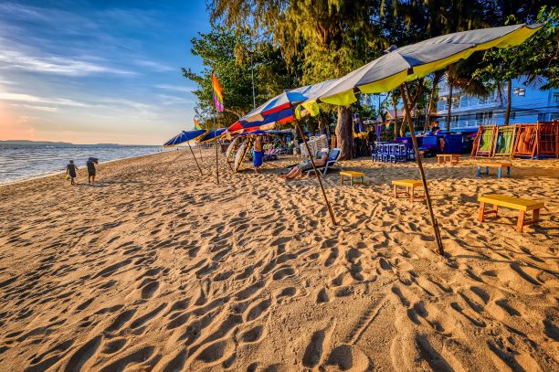 Dongtan Beach, Pattaya attractions in Thailand