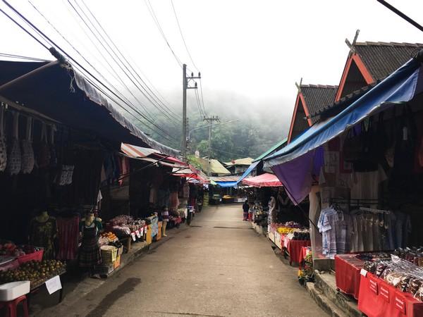 aking the Tour at Hmong Tribal Village