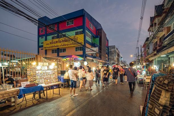Wau Lai Walking Street (The Saturday Walking Street)