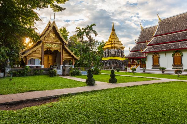 """History of the Ancient Temple """"Wat Chiang Man"""""""