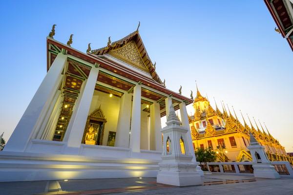 Ubosot of Wat Ratchanatdaram