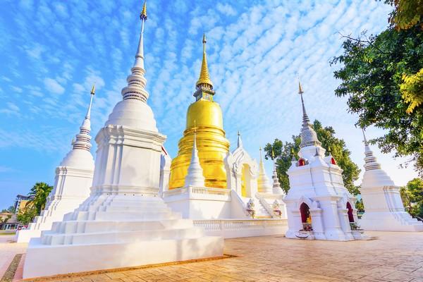 The Gigantic Lankan Pagoda