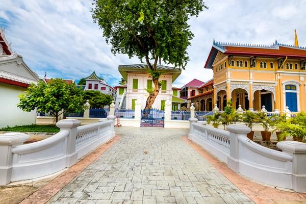 the Tamnuk Panya was Built by HM King Chulalongkorn